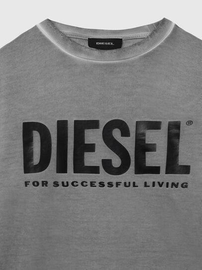 Diesel - S-GIR-DIVISION-LOGO, Dark grey - Sweaters - Image 3