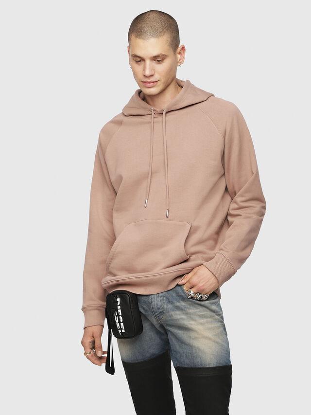 Diesel - S-GIM-HOOD-A, Face Powder - Sweaters - Image 1