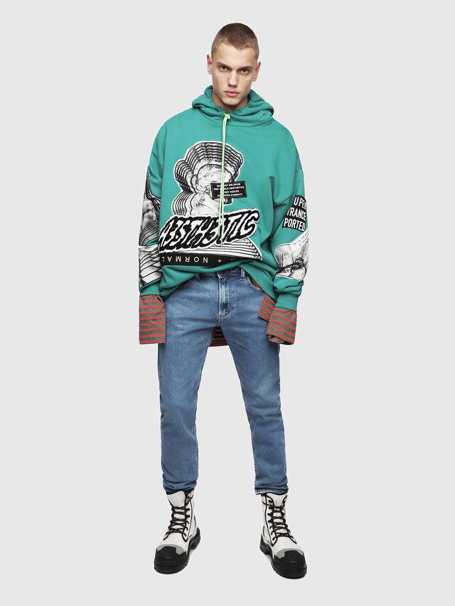 Diesel - S-JACK-YA, Water Green - Sweaters - Image 4