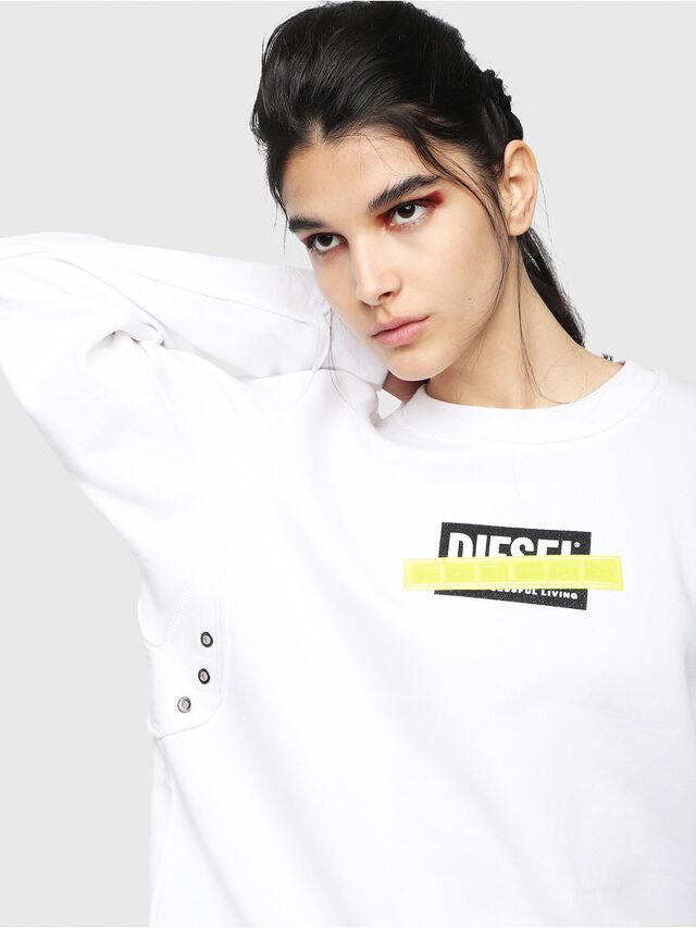 Diesel - F-LYANY-B, White - Sweaters - Image 3