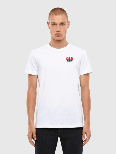 Diesel - T-DIEGOS-N25, White - T-Shirts - Image 1