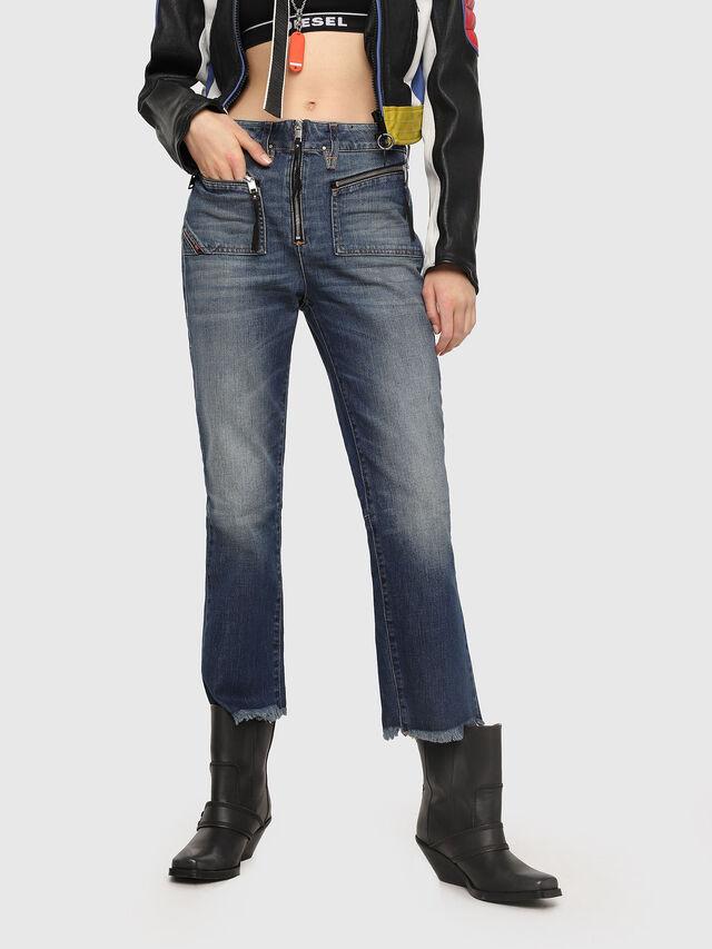 Diesel - D-Earlie 089AR, Dark Blue - Jeans - Image 1
