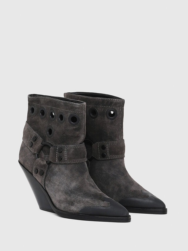 Diesel - D-WEST MBE, Black - Ankle Boots - Image 2