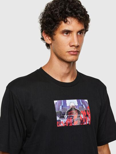 Diesel - T-TUBOLAR-N2, Black - T-Shirts - Image 3