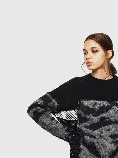 Diesel - M-POST, Black - Knitwear - Image 3