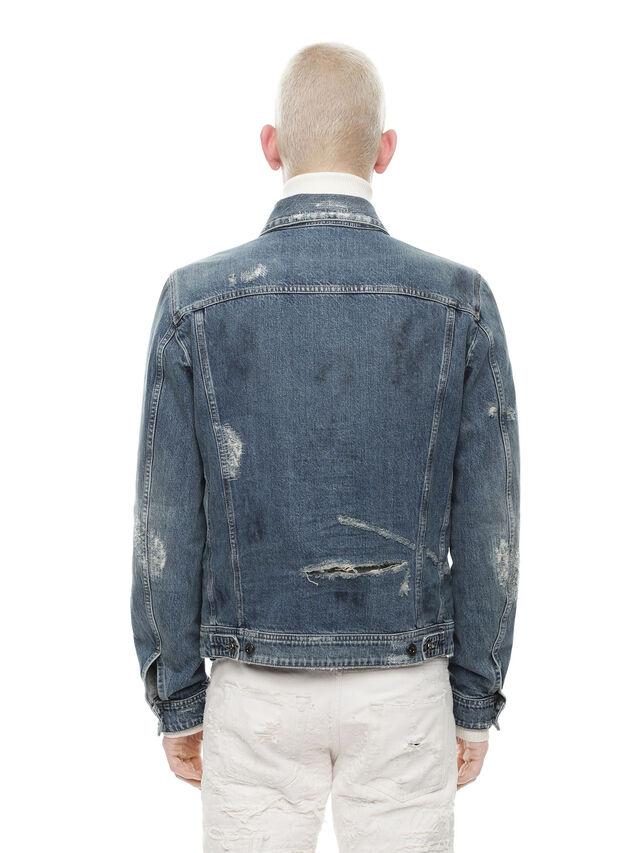 Diesel - JARTE, Blue Jeans - Jackets - Image 2