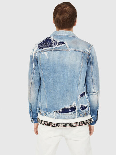 Diesel - NHILL-TM,  - Denim Jackets - Image 2