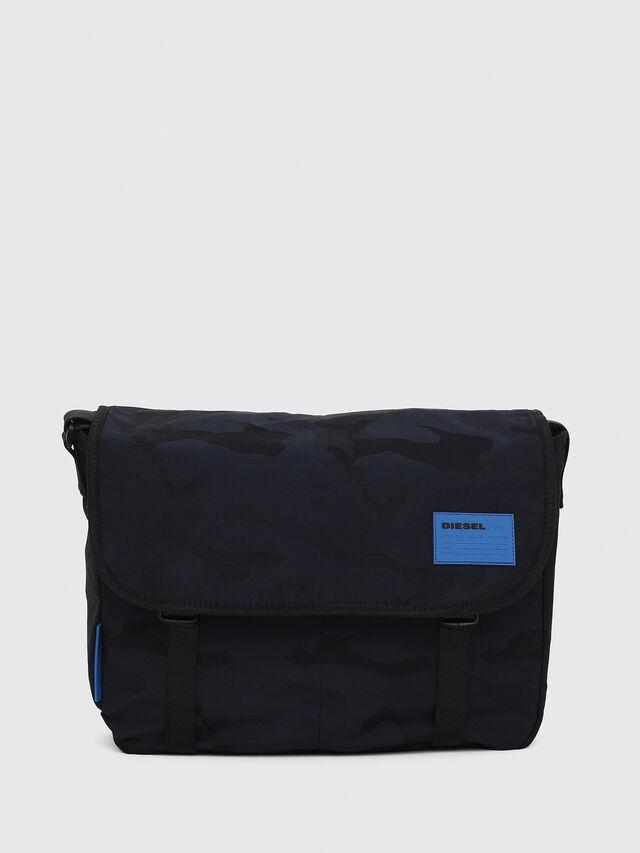 Diesel - F-DISCOVER MESSENGER, Dark Blue - Crossbody Bags - Image 1