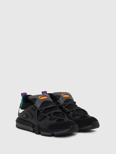 Diesel - H-PADOLA LOW S, Black - Sneakers - Image 2