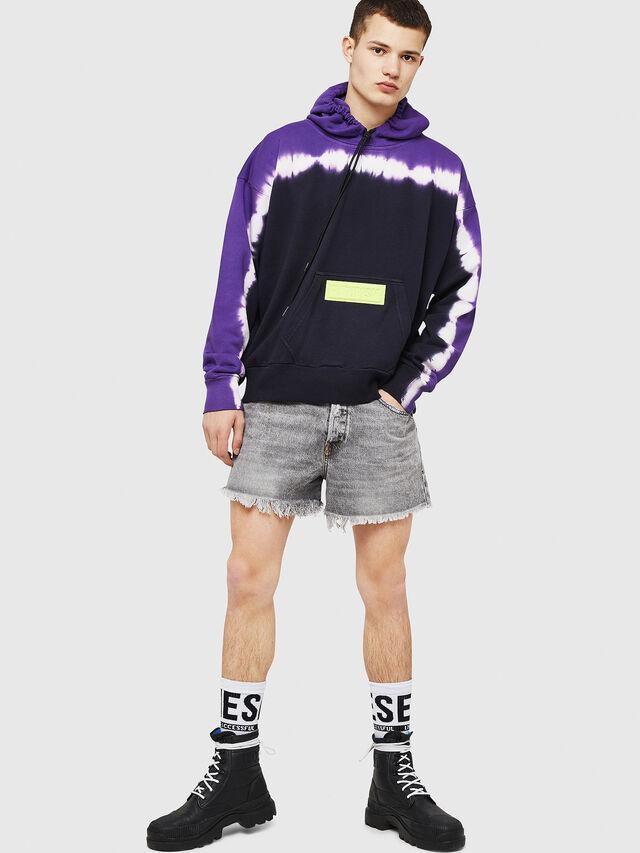 Diesel - S-ALBY-DEEP, Black/Violet - Sweaters - Image 5