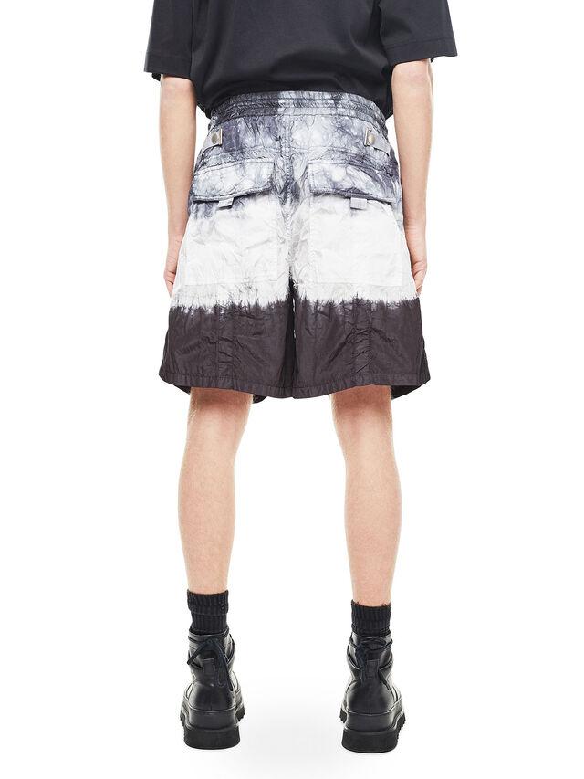 Diesel - PAIDAY, Black/White - Shorts - Image 2