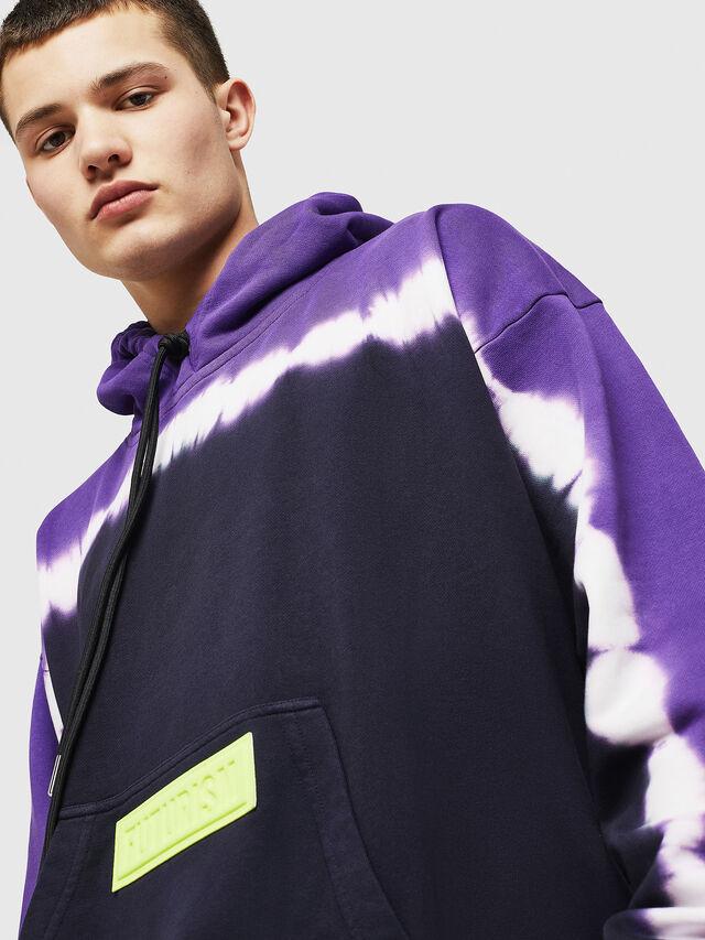 Diesel - S-ALBY-DEEP, Black/Violet - Sweaters - Image 4