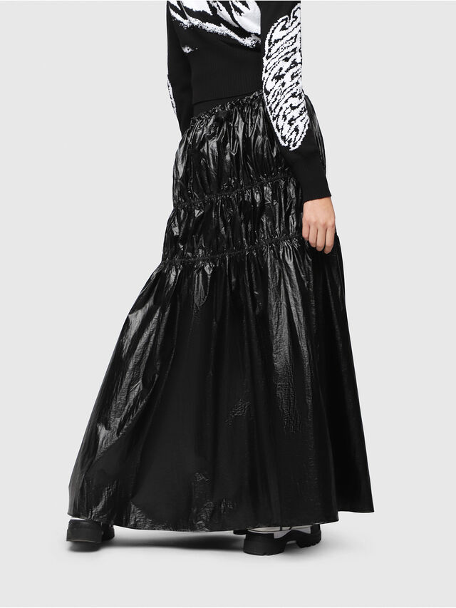 Diesel - O-LIN, Black - Skirts - Image 2