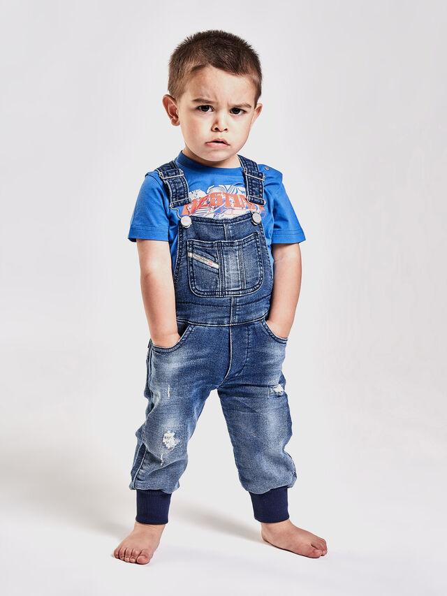 Diesel - PATHYB JOGGJEANS, Blue Jeans - Jumpsuits - Image 4