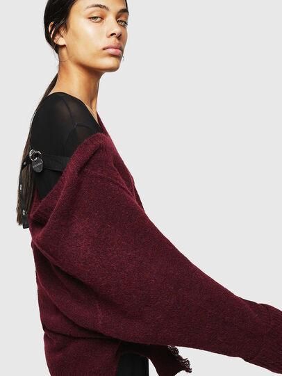 Diesel - M-MARIKAX, Burgundy - Knitwear - Image 3