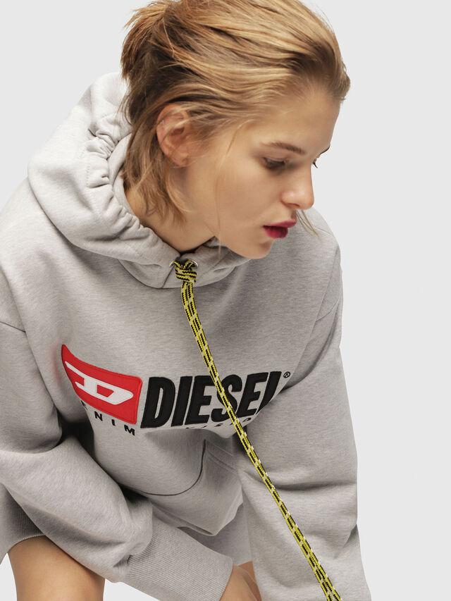 Diesel - D-ILSE-C, Light Grey - Dresses - Image 4