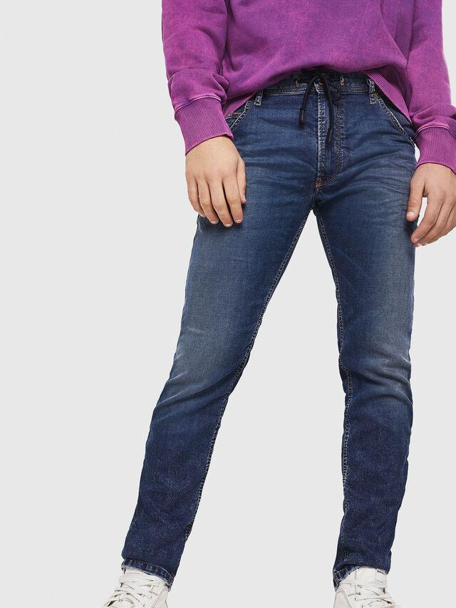 Diesel - Krooley JoggJeans 069FG, Dark Blue - Jeans - Image 4