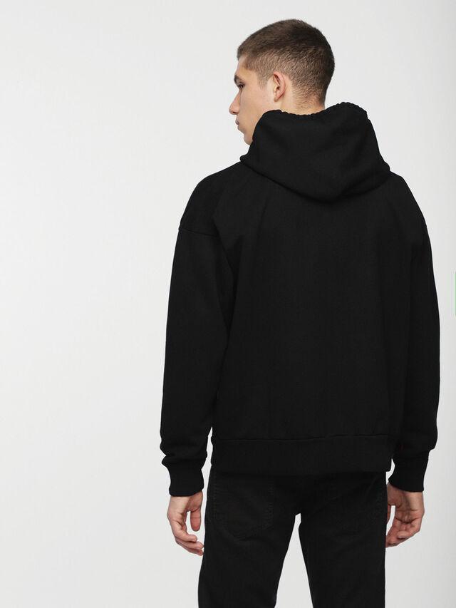 Diesel - DVL-SIZIP-CAPSULE, Black - Sweaters - Image 2