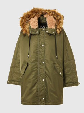 W-FLORES, Military Green - Winter Jackets