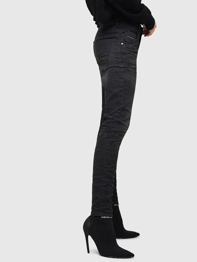Diesel - Krailey JoggJeans 069GN, Black/Dark grey - Jeans - Image 5