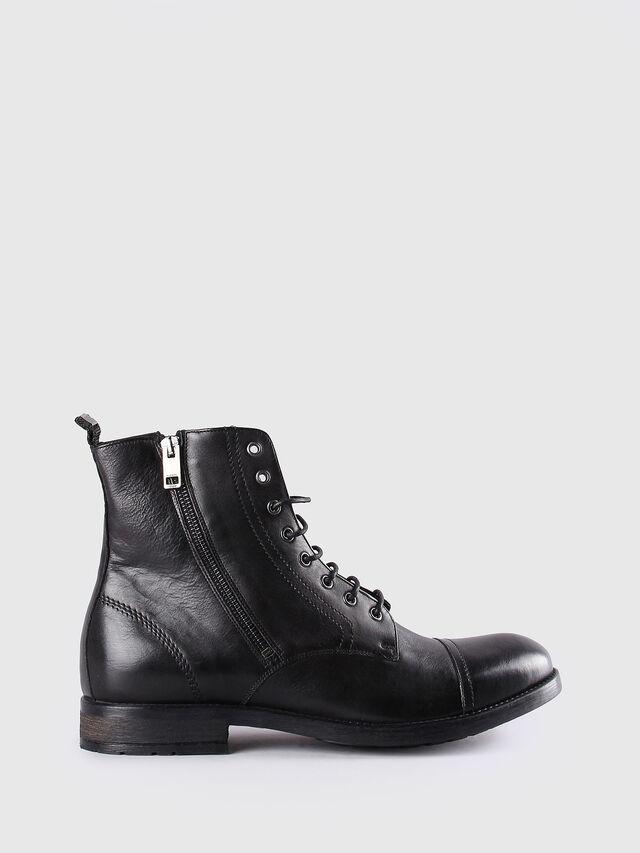 Diesel D-KALLIEN, Black Leather - Boots - Image 1