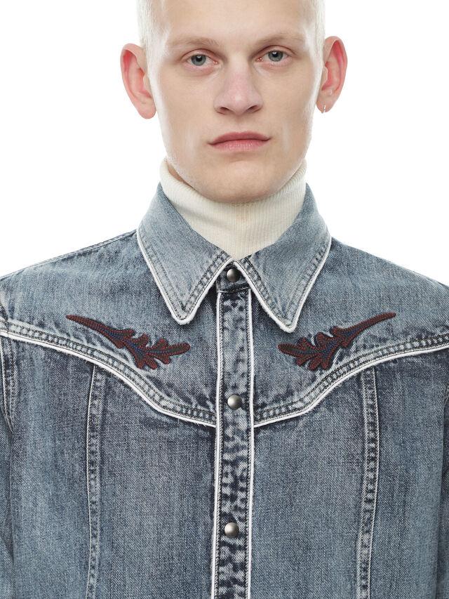 Diesel - SHESTERN, Blue Jeans - Shirts - Image 4