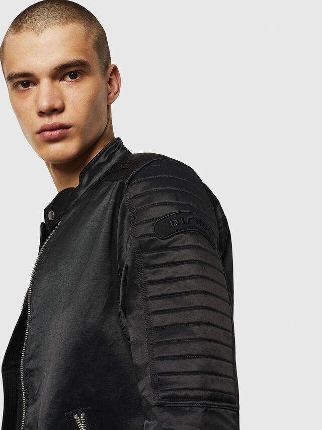 Diesel - J-SHIRO, Black - Jackets - Image 4