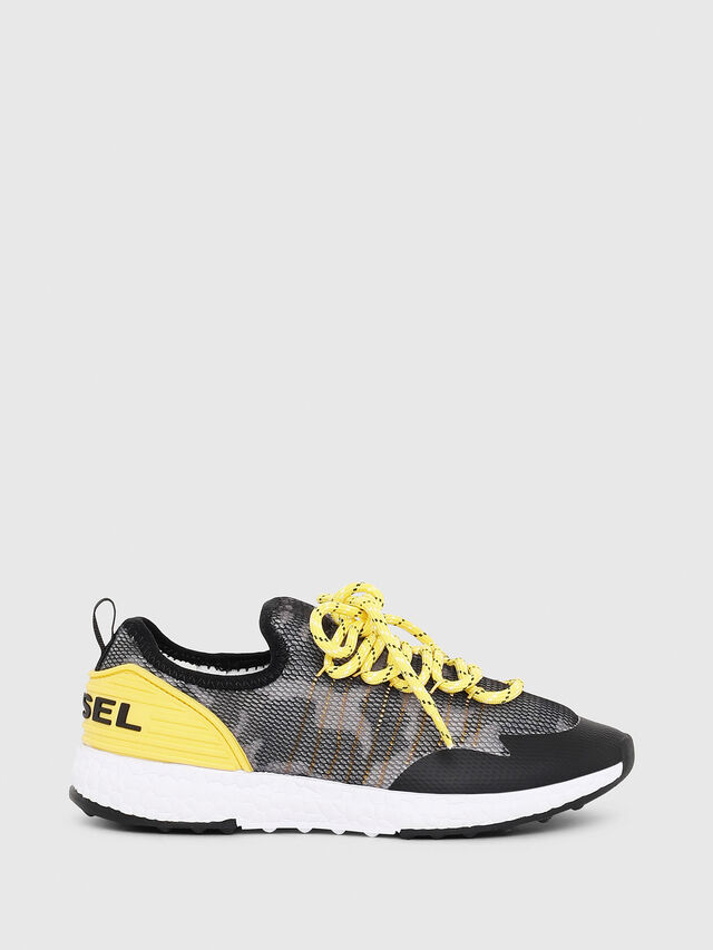 Diesel - SN LOW 10 S-K CH, Gray/Black - Footwear - Image 1