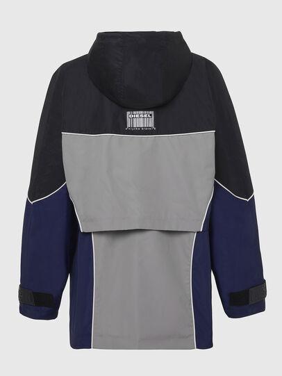 Diesel - W-KOON, Blue/Grey - Winter Jackets - Image 2