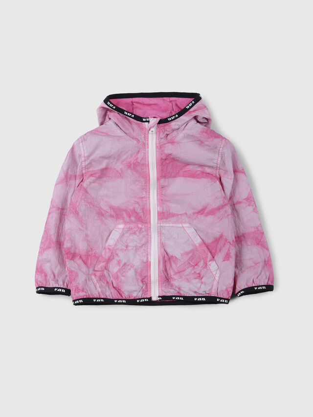Diesel - JOSTYB, Pink/White - Jackets - Image 1