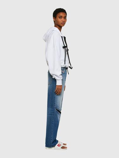 Diesel - F-CROPPY, White - Sweaters - Image 4
