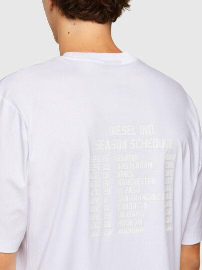 Diesel - T-GORAN-A1, White - T-Shirts - Image 3