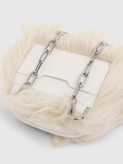 Diesel - CUTYE F, White - Crossbody Bags - Image 5