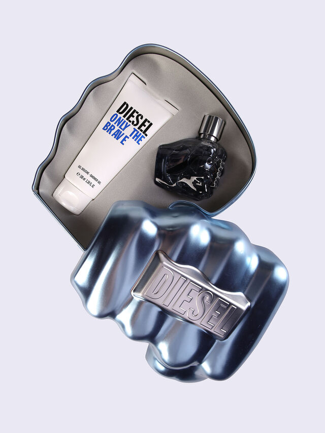 Diesel - ONLY THE BRAVE 50ML METAL GIFT SET, Blue - Only The Brave - Image 1