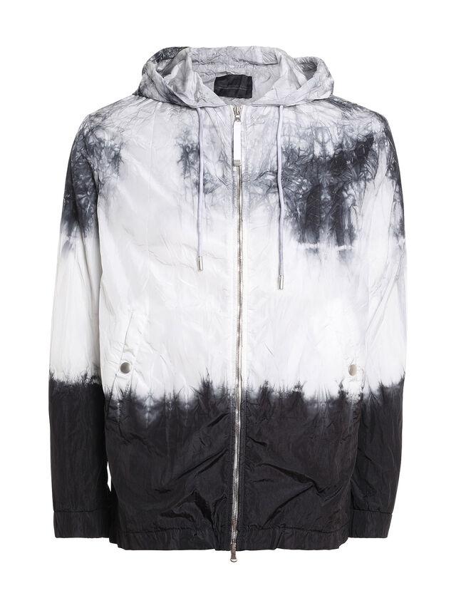 Diesel - JIEDYE, White/Black - Jackets - Image 1