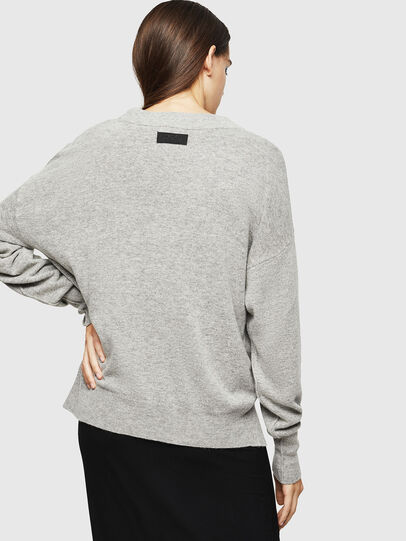 Diesel - M-CRISTAL, Grey - Knitwear - Image 2