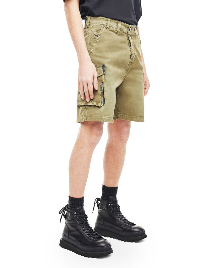 Diesel - TYPE-2908, Military Green - Shorts - Image 3