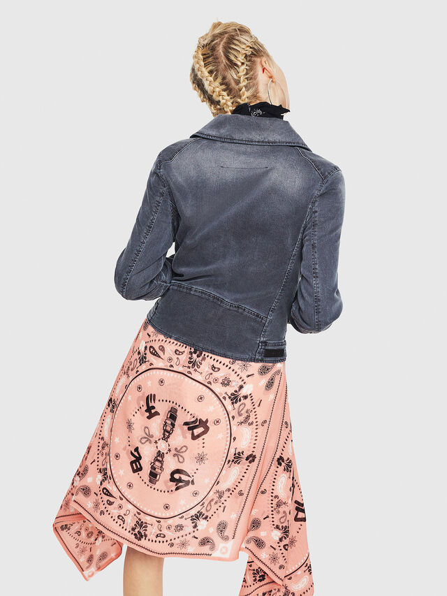 Diesel - KERBIZ JOGGJEANS, Black Jeans - Denim Jackets - Image 2