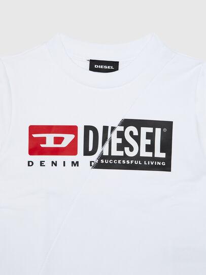Diesel - SGIRKCUTYB-R, White - Sweaters - Image 3