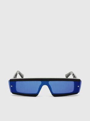DL0318, Black/Blue - Sunglasses
