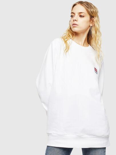 Diesel - S-GIR-DIV-P, White - Sweaters - Image 2