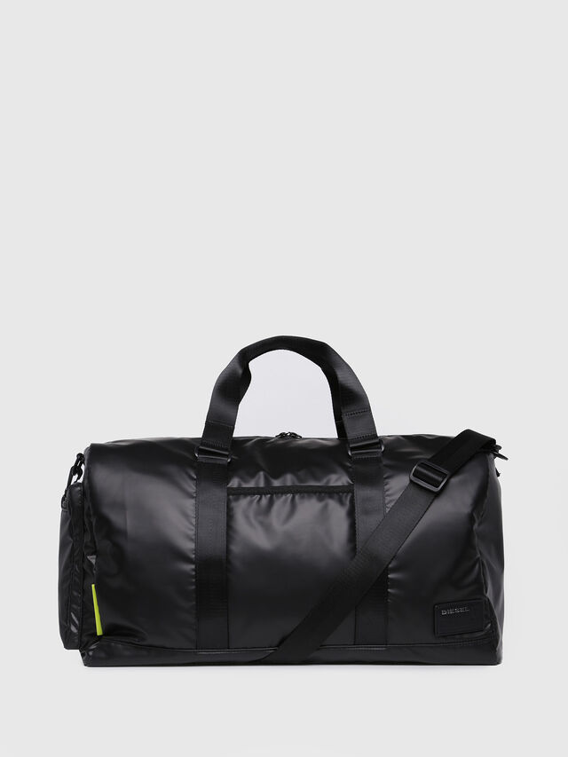 Diesel - F-DISCOVER DUFFLE, Black/Blue - Travel Bags - Image 1