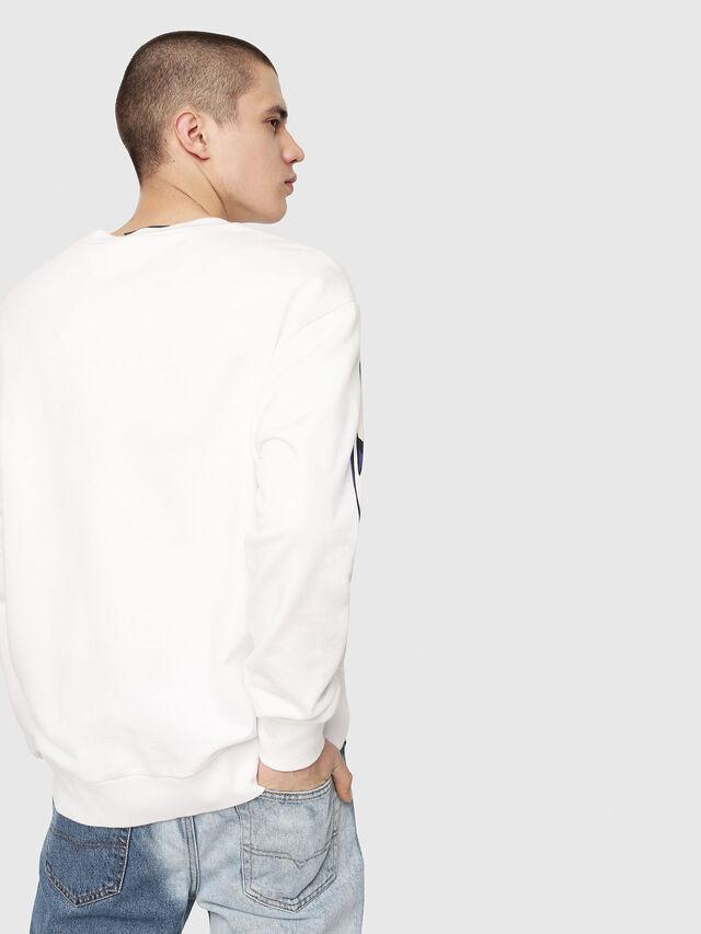 Diesel - S-BAY-RADIO-PRINT, White - Sweaters - Image 2