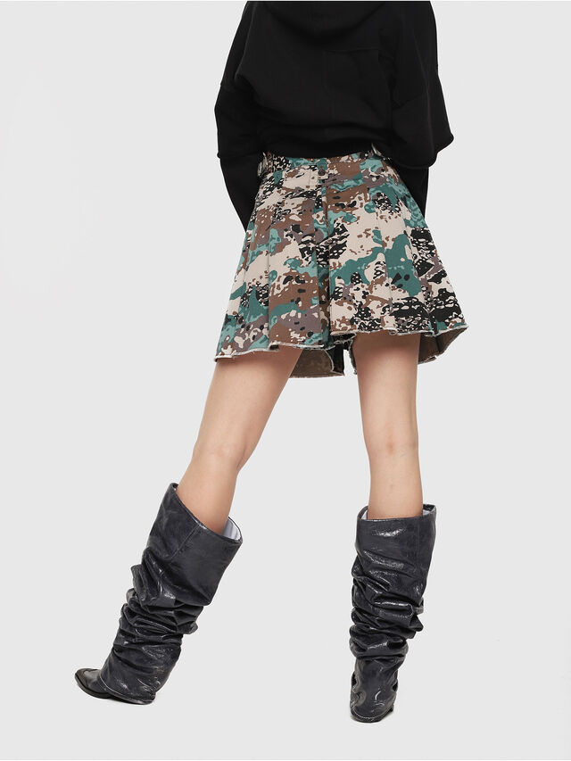 Diesel - S-EDEN-A, Green Camouflage - Shorts - Image 2