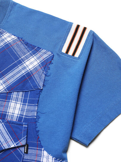 Diesel - D-WESTERNSPORT, Light Blue - T-Shirts - Image 3