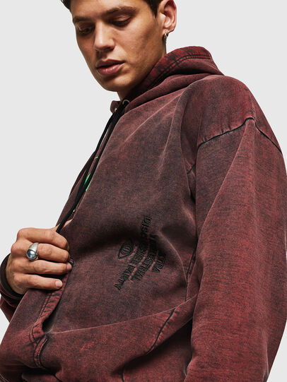 Diesel - S-ALBY-ACID, Bordeaux - Sweaters - Image 6