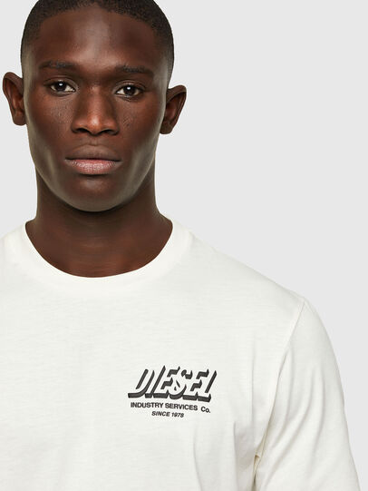 Diesel - T-JUST-A33, White - T-Shirts - Image 3