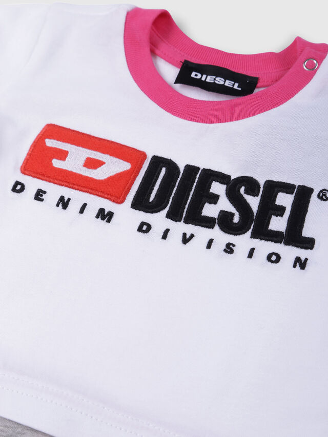 Diesel - JEKKY-NB, White/Pink - Jumpsuits - Image 3