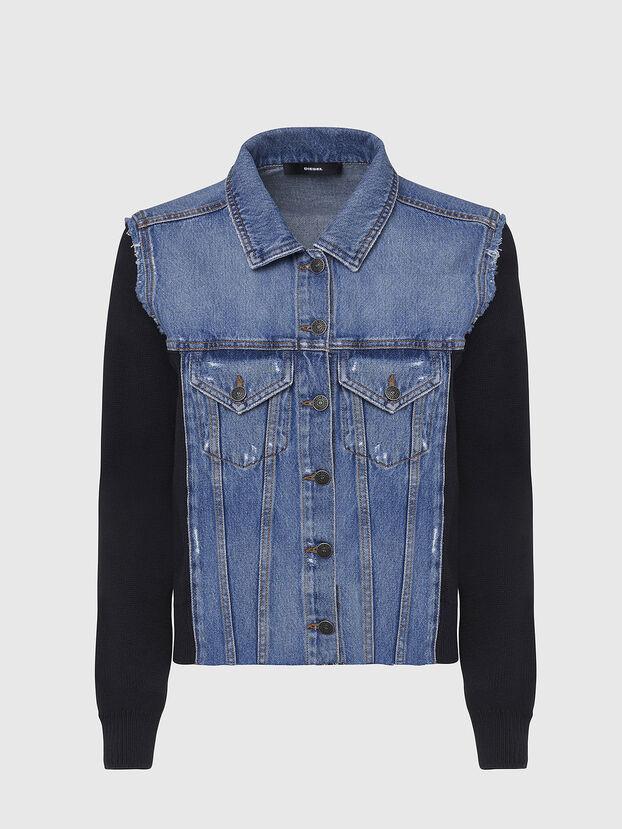 M-ROSE, Blue/Black - Jackets