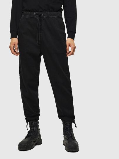 Diesel - D-Toller JoggJeans 0687Z, Black/Dark grey - Jeans - Image 1